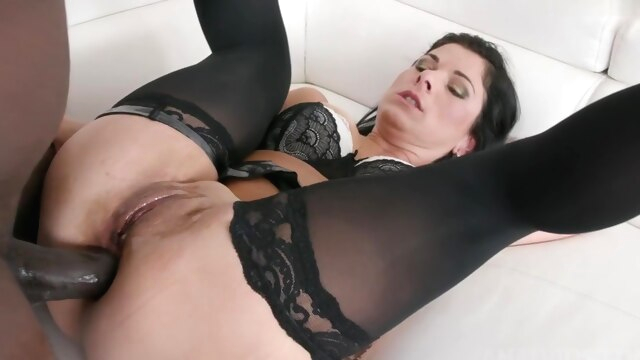 Janice United Casting With BBC anal big cock brunette