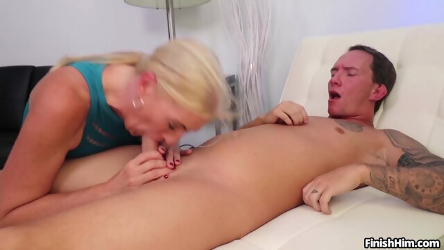NEW CUM FOR MOMMY with Naughty JoJo blowjob cumshot mature