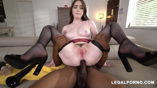 Astonishing Adult Video Stockings Newest.. anal big cock brunette