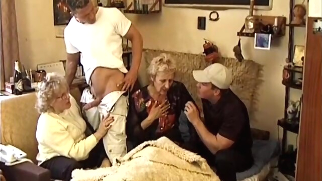 The start of my granny fetish 0105 anal blonde double penetration