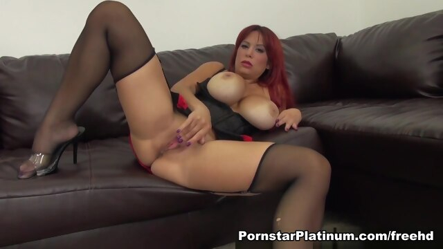 Alyssa Lynn in Feeling Naughty big ass big tits high heels