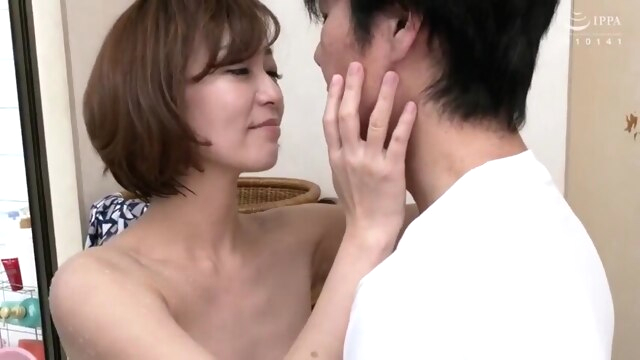 Hot japonese mom and stepsonK amateur japanese mature