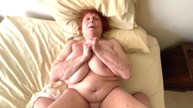 Naughty Granny Satisfies Insatiable.. amateur bbw mature