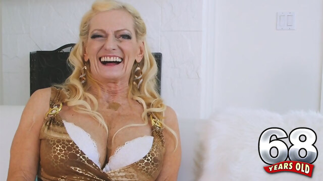 The Very Exciting Life Of 68-Year-Old.. big tits blonde casting