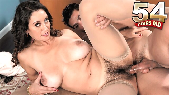 Put it in the hairy hole - Persia Monir.. big ass big tits brunette