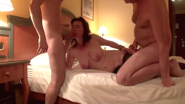 Hubby watches a stranger cum in his.. amateur blowjob cumshot