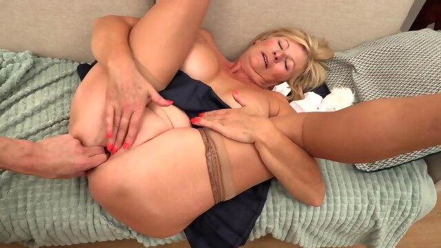 The start of my granny fetish 0222 amateur anal blonde