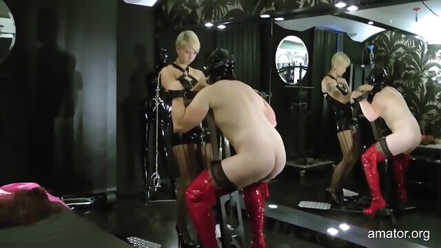 Amator - Lady Satori - Sissy Training.. amateur bdsm blonde