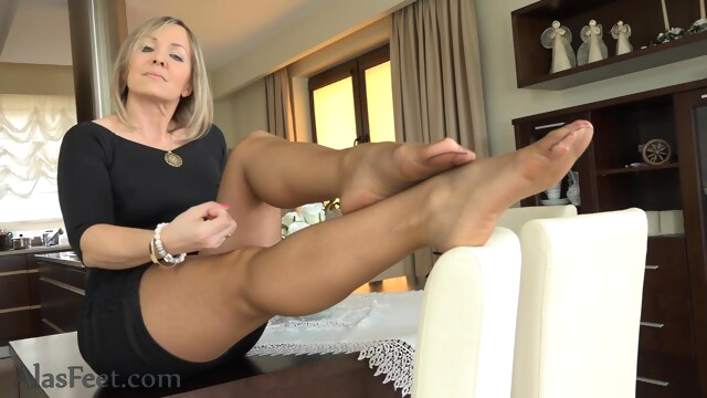 Horny adult clip MILF hottest , check it fetish foot fetish footjob