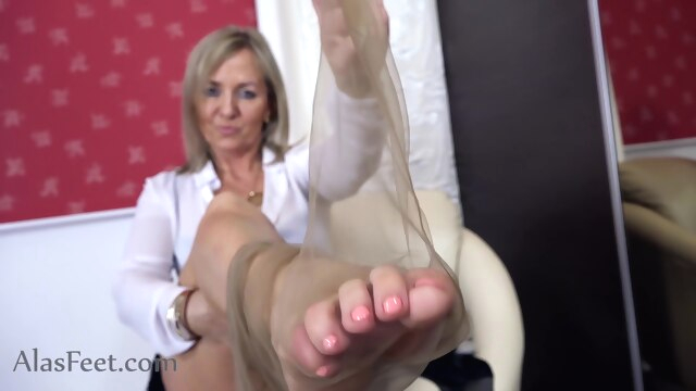 Excellent xxx movie MILF hottest only here fetish foot fetish footjob