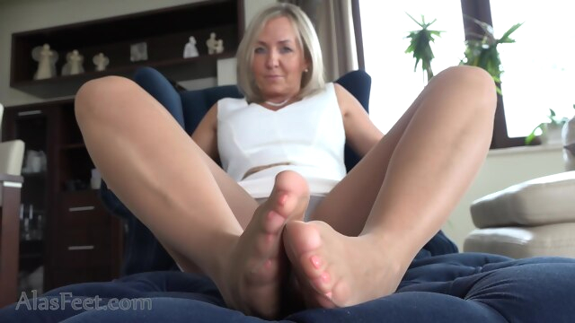 Fabulous porn scene MILF crazy you've seen fetish foot fetish footjob