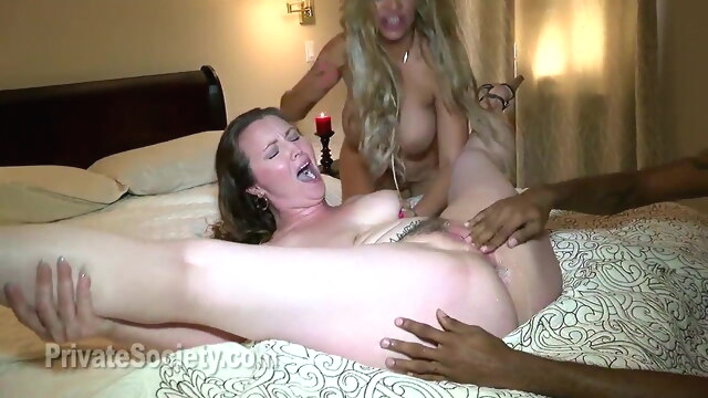 Cock Crazy Mothers anal blowjob big boobs
