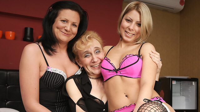 Three Old And Young Lesbians Making Each.. big ass big tits cunnilingus