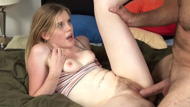 Nikki Sweet Teaching Daddy A Lesson blonde hairy hd
