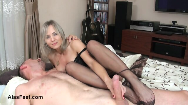 Amazing porn scene MILF newest just for.. fetish foot fetish footjob