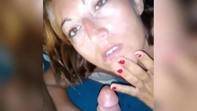Vacation memories, this stranger spits.. amateur blowjob handjob